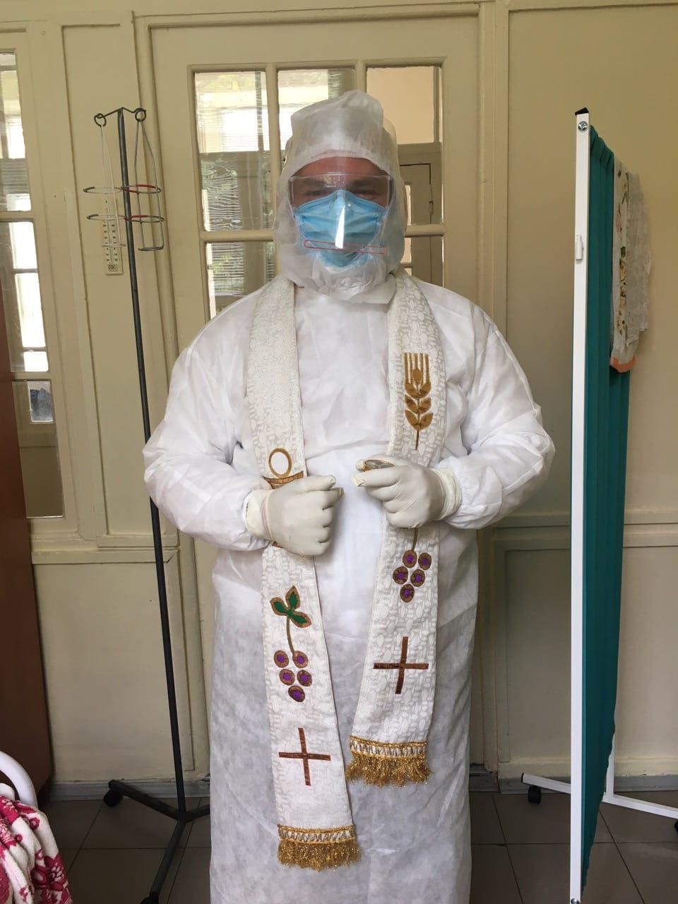 Ucrania: Una misión especial con pacientes de COVID 19