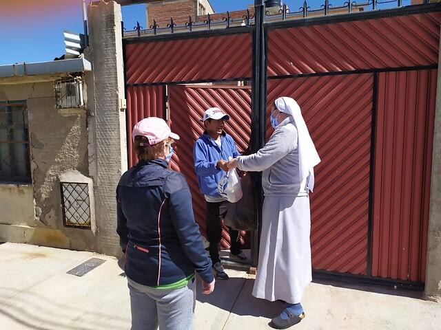 Bolivia: Ayuda al sustento para 27 religiosas de la Diócesis andina de Oruro