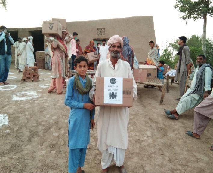 Pakistán: Ayuda de emergencia por el COVID-19 para tres diócesis