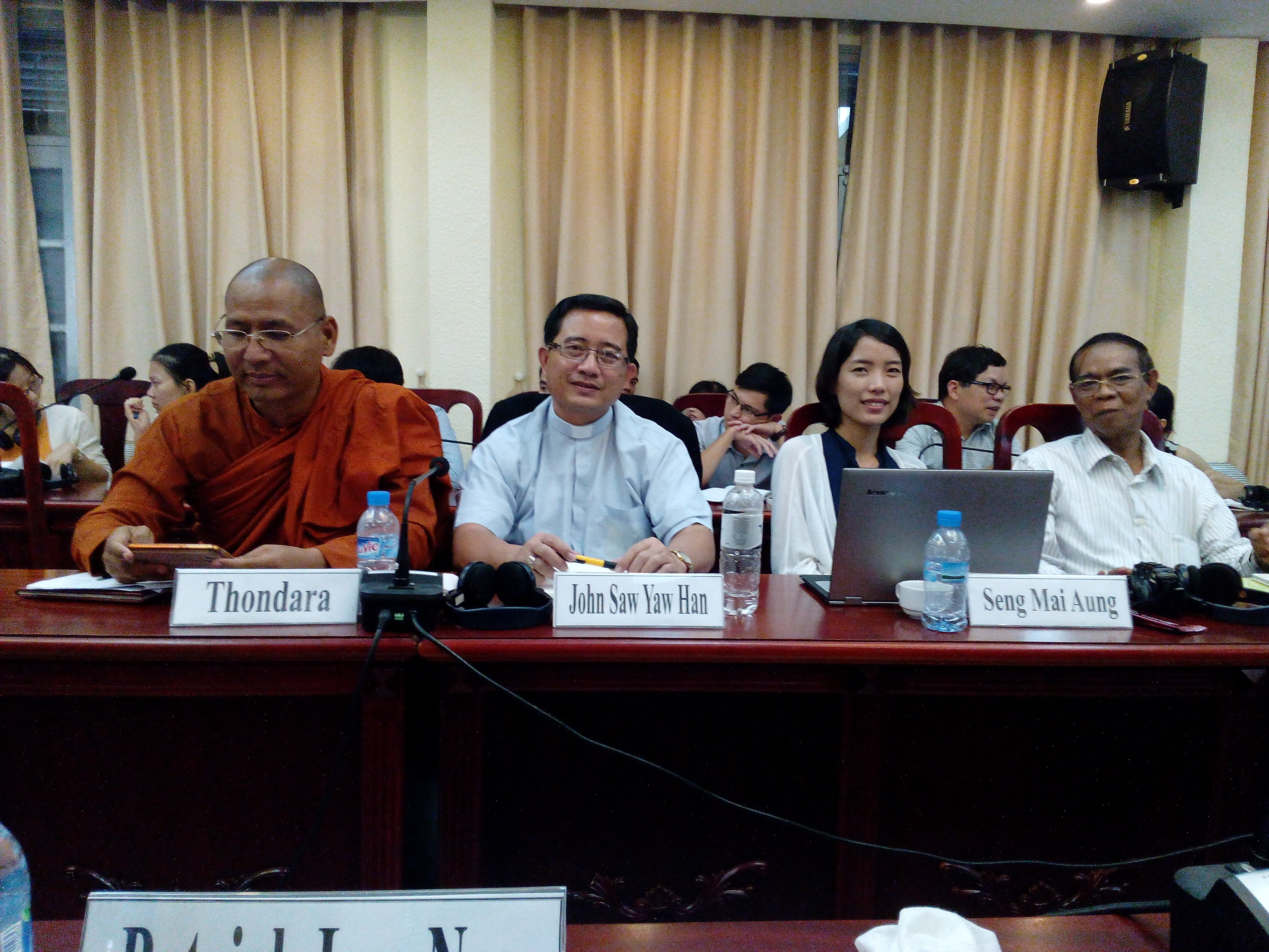 Myanmar necesita la voz profética y la valentía moral de sus líderes religiosos para construir la paz
