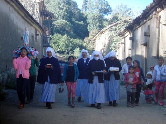 Bolivia: Ayuda al sustento de seis religiosas de parroquias pobres de los Andes