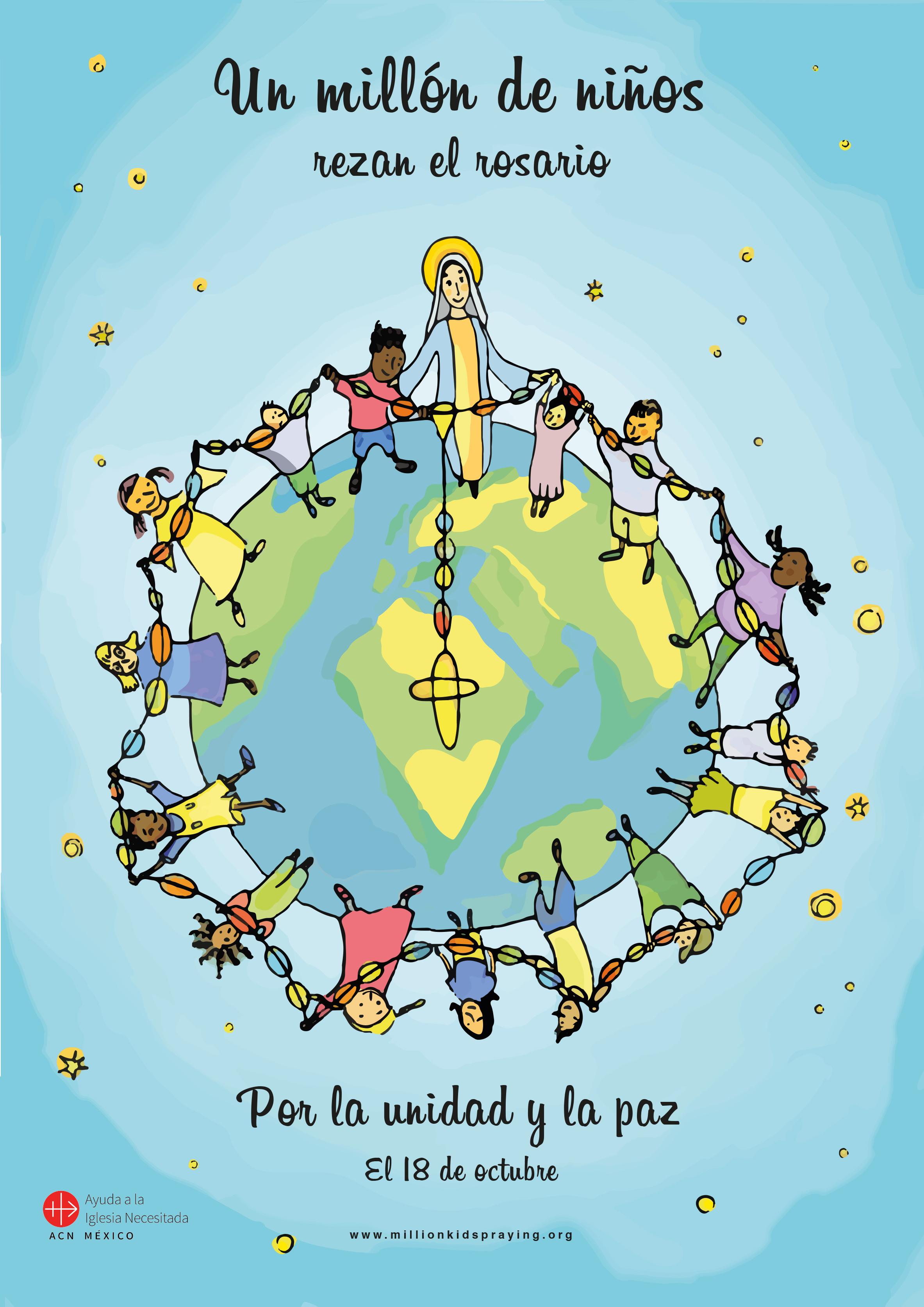 Este 18 de octubre: Un millón de niños rezando el Rosario