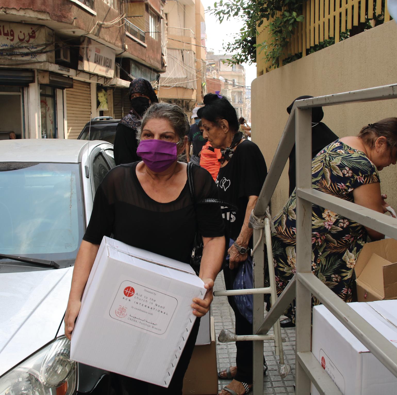 Líbano. La lucha diaria de Georgette para alimentar a sus nietos