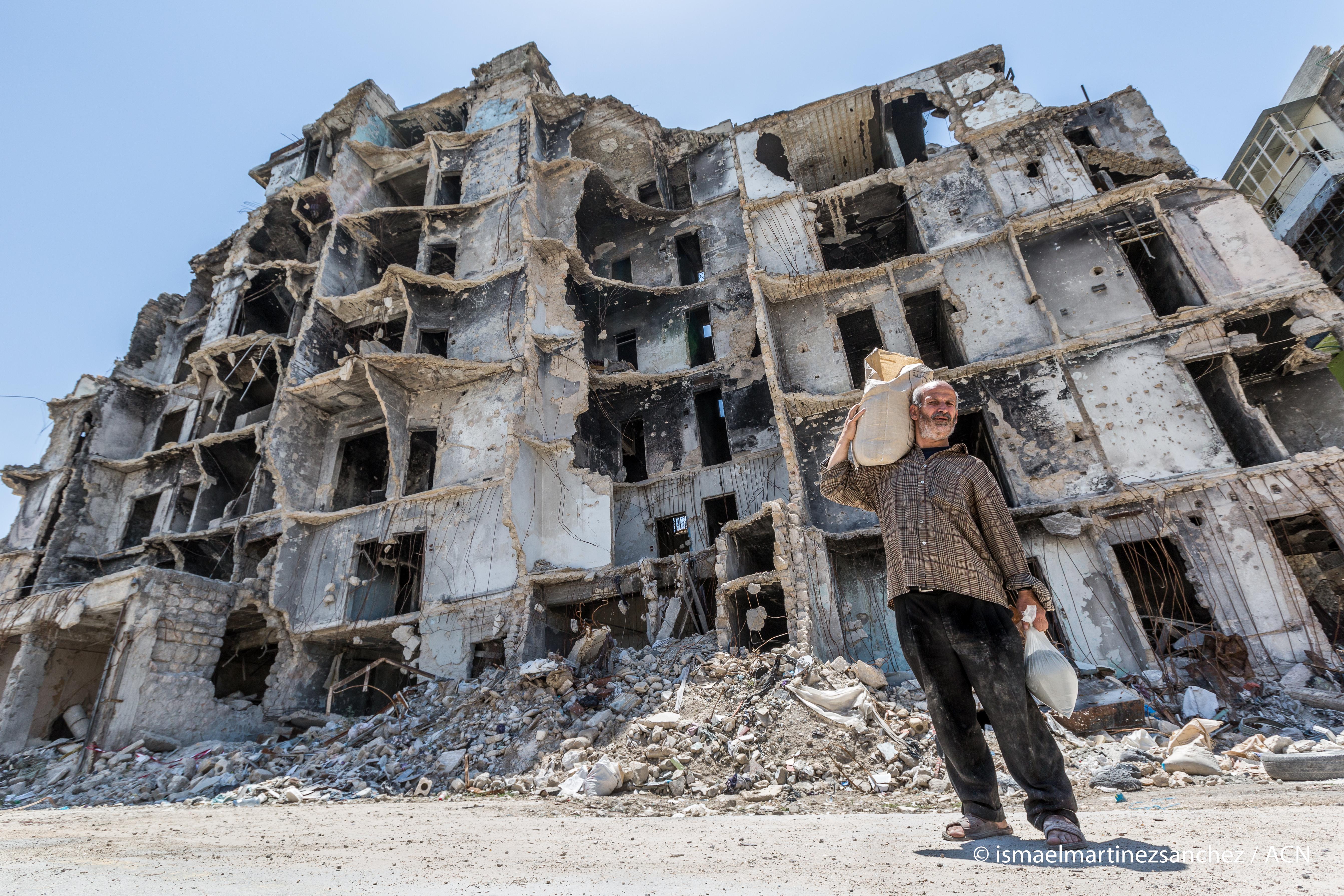 """Siria: """"Las sanciones no hacen más que hundir a la gente, aún más, en la miseria"""""""