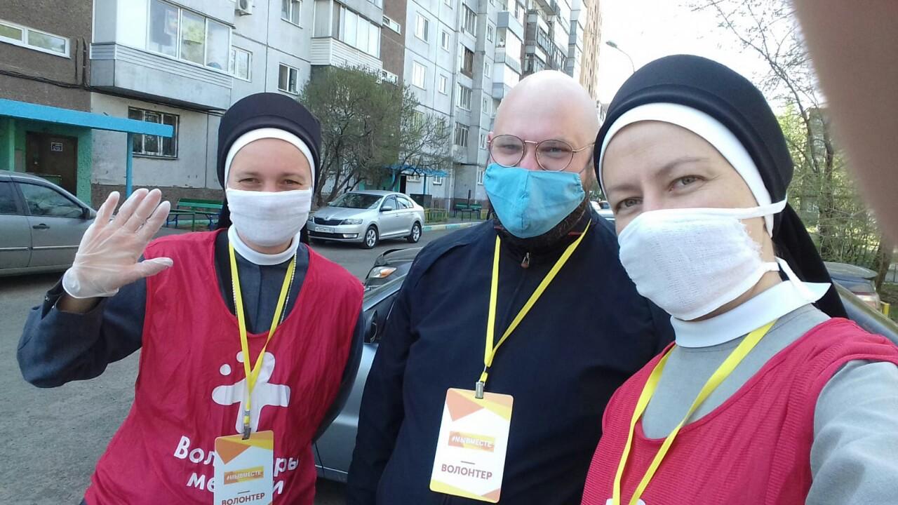 Rusia: Sustento para religiosas