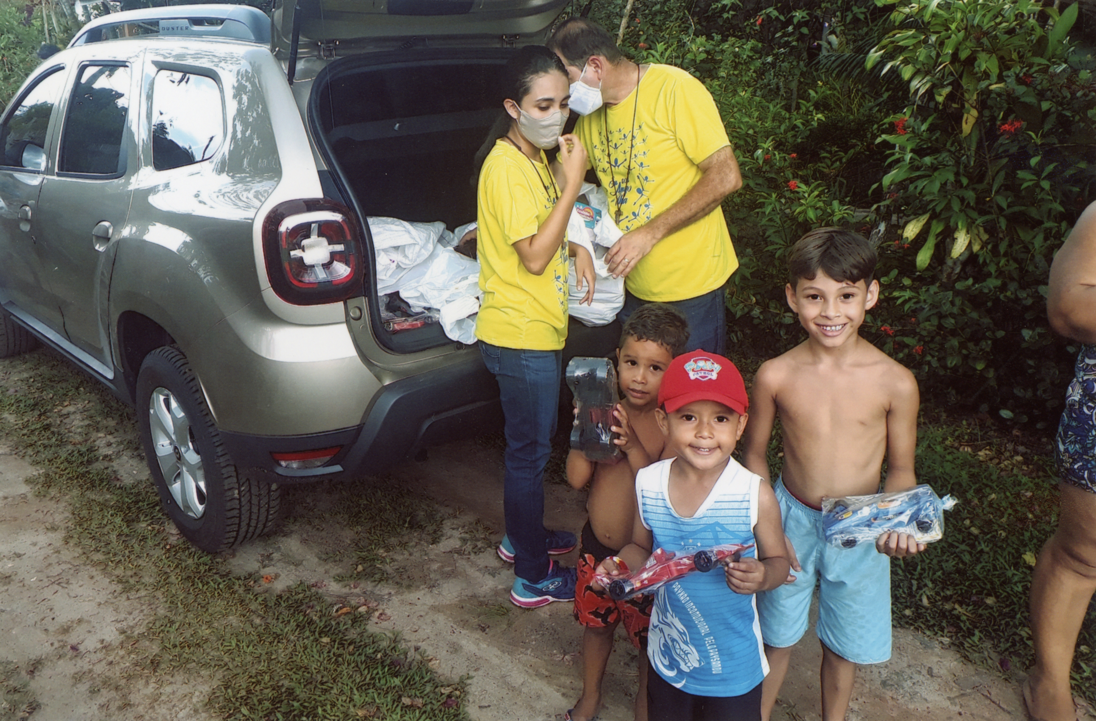 Brasil: Un Vehículo para la comunidad católica Mar a dentro