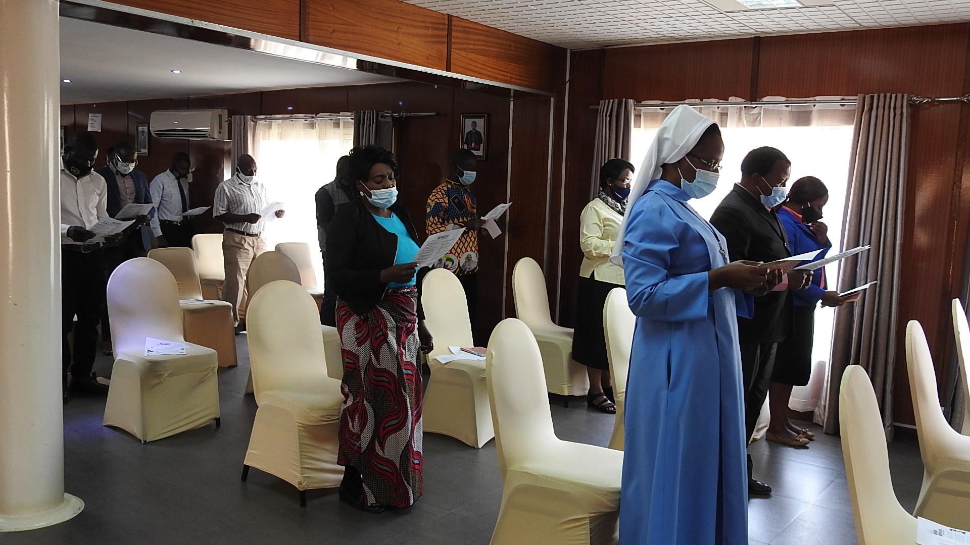 Zambia: Material de protección contra el Covid-19 para sacerdotes y religiosos de 3 diócesis