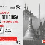 12 DE MAYO: Presentación en México del XV Informe de Libertad Religiosa en el Mundo 2021