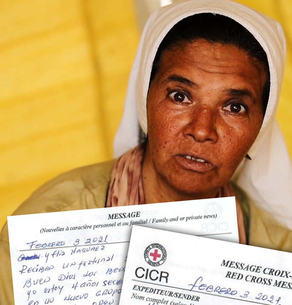 """La Hermana Gloria Narváez, secuestrada en Malí envía nota a su hermano: """"Oren por mi"""""""