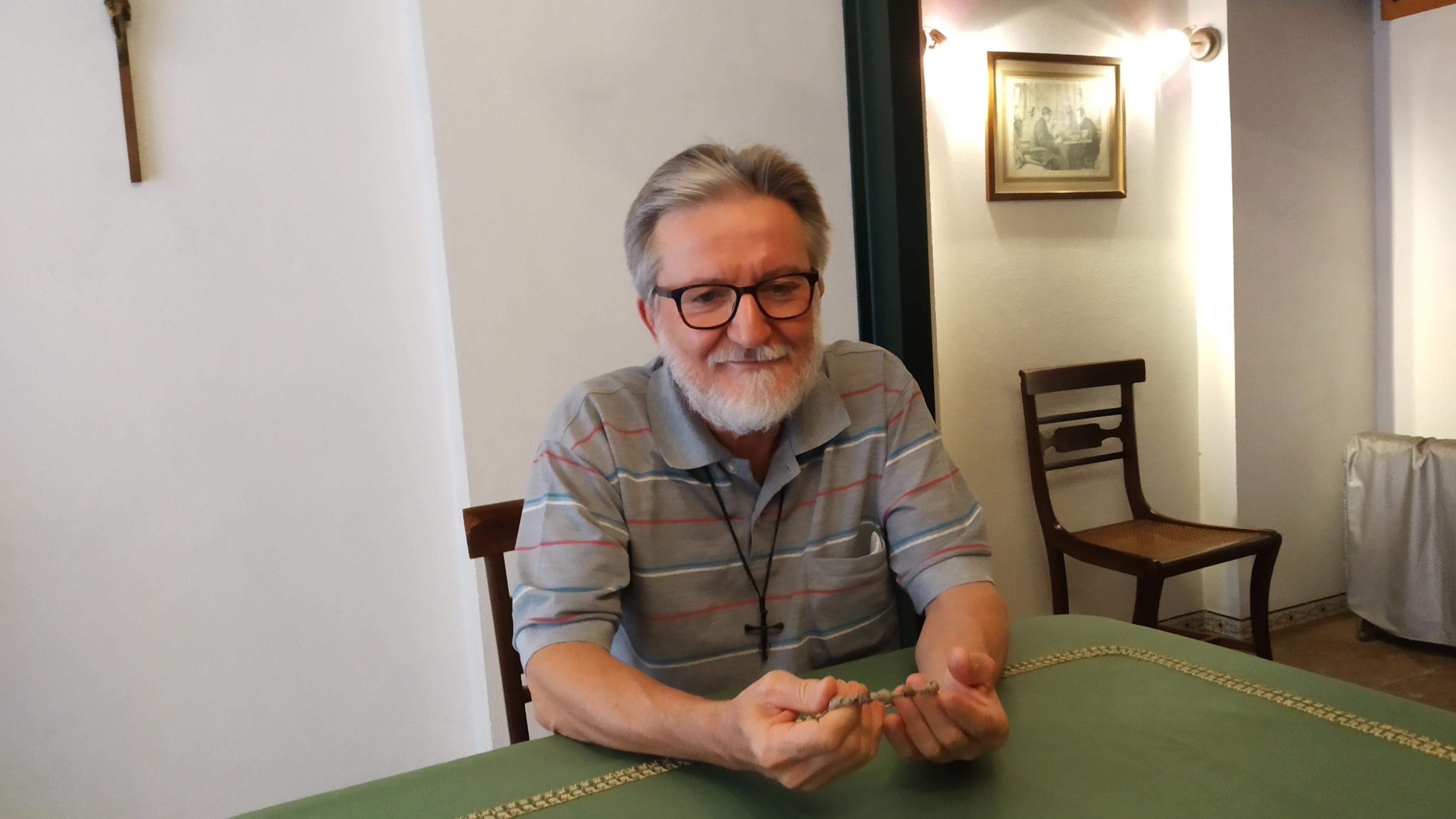 """El padre Gigi Maccalli fue a Fátima a """"agradecer a María"""" su liberación"""