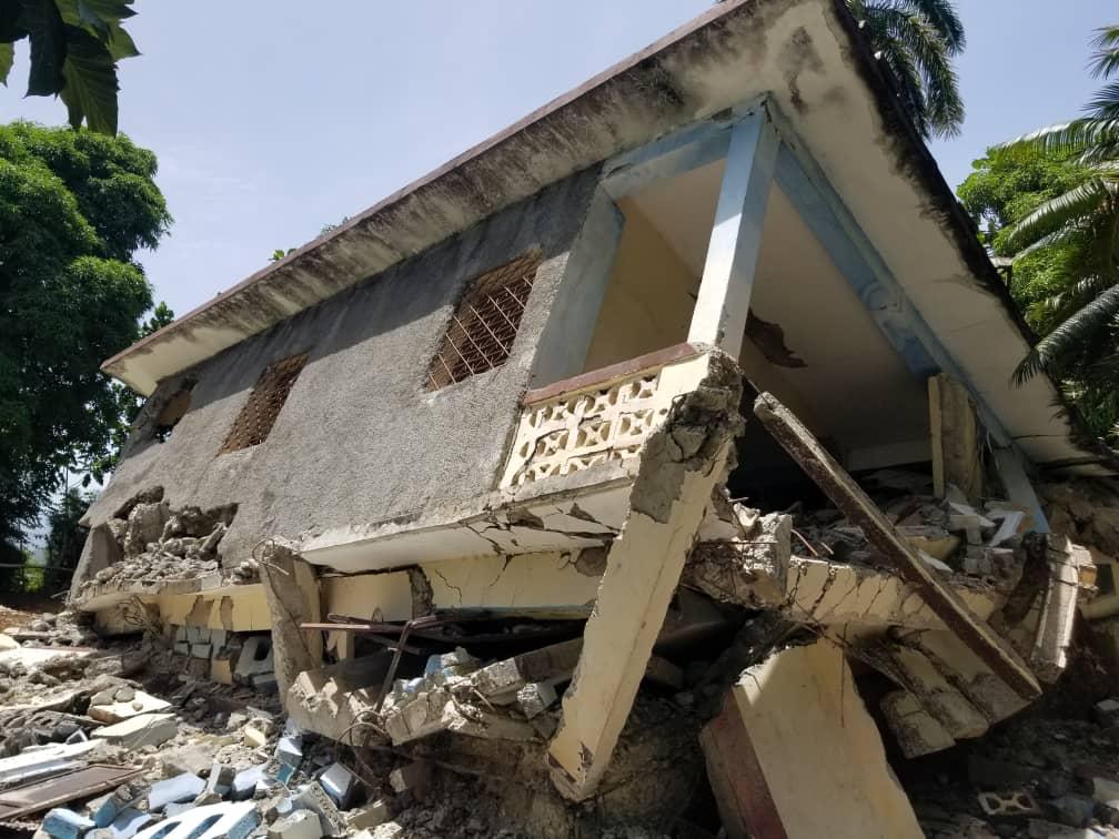 El recuento de los daños en Haití