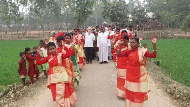 Bangladesh:  Apoyo para la construcción de una capilla